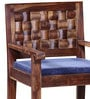 Woodway Single Seater Sofa in Provincial Teak Finish by Woodsworth