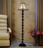 Khadi Poly Cotton Floor Lamp by Woody Lamp House