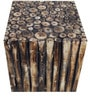Woody Theme Square Stool by Saaga