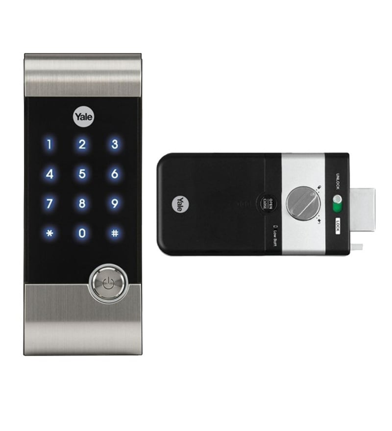 Buy Yale Rim Digital Door Lock Model No Ydm 3110 Online Digital Lock Hardware