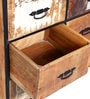 Yandera Chest of Drawers in Distress Finish by Bohemiana