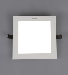 Yellow Aluminum Ultra Slim Plus 15 W Recessed Ceiling Light