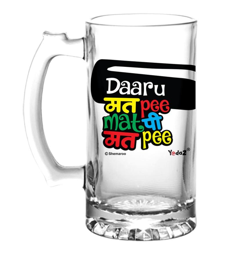 buy woodtrim viking beer mug with steel inserts in natural oak rh pepperfry com
