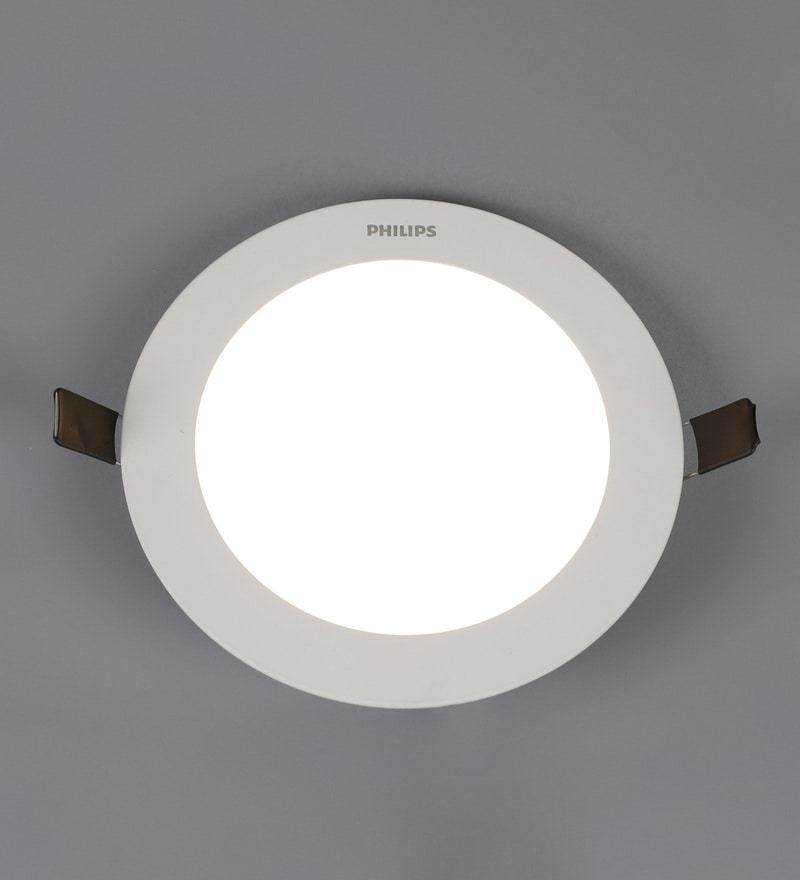 Buy lightspro gold steel spot light online recessed lights yellow aluminum ultra slim plus 12 w concealed ceiling light by philips aloadofball Choice Image
