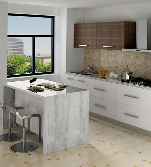 Island Modular Kitchen Buy Island Kitchen Design Online In India Best Price Pepperfry