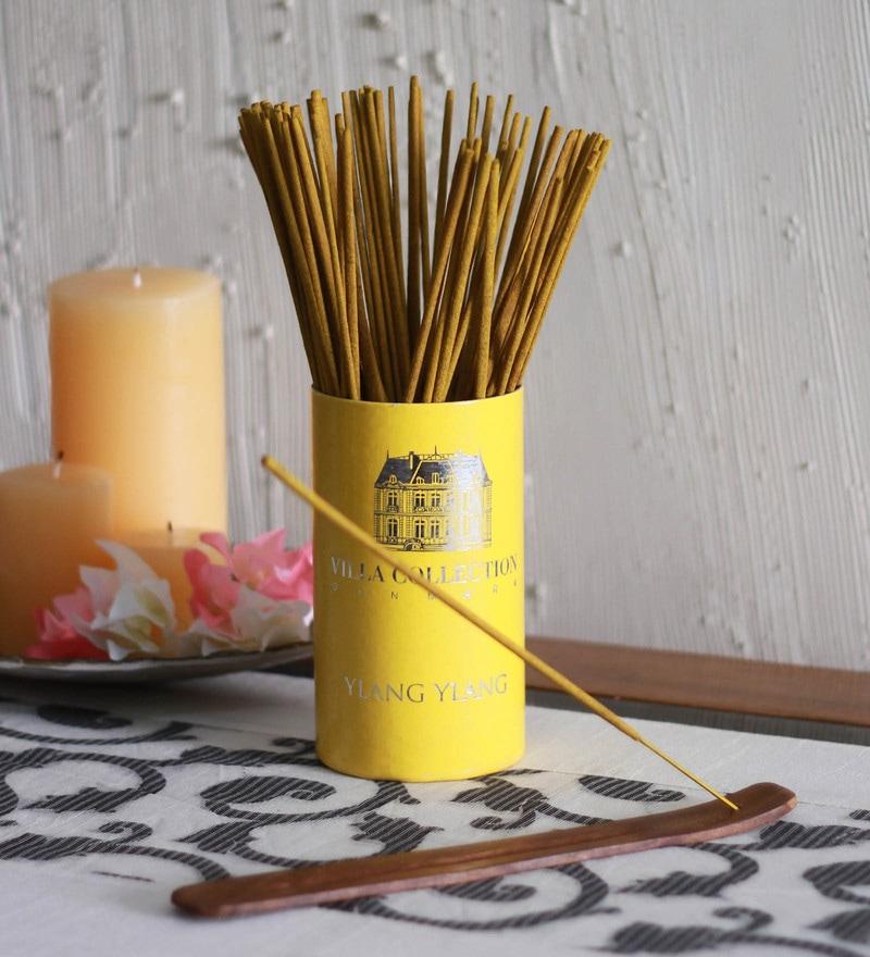 Ylang Ylang Premium Incense Sticks in Villa Tube by Aroma India