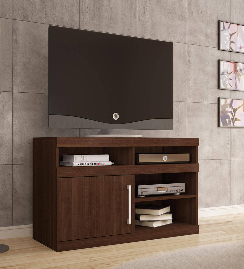 Yojimbo Entertainment Unit in Brown Finish by Mintwud