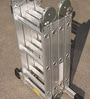 Youngman 4 Section Hinged Joint Aluminium 12 Steps 11 FT Multi Purpose Ladder