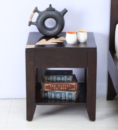 Zabel Bed Side Table In Dual Tone Finish
