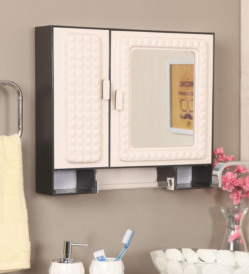 Buy Cream Acrylic Bathroom Cabinet by Zahab Online - Bathroom ...