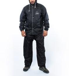Zeno Unisex Nylon XL Black Raincoat