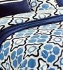 Blue Double Bed Sheet Set by Zesture Bring Home