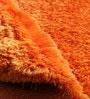 Saffron Polyester 48 x 72 Inch Shaggy Rug by Zila Home