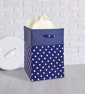 Leatherette Laundry Baskets