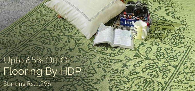 Upto 65% off on Flooring By HDP
