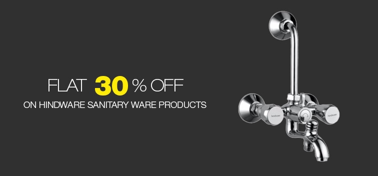 Flat 30% Off on Hindware Sanitaryware Products