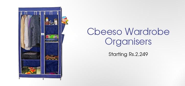 Cbeeso Wardrobe Organisers