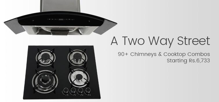 Chimneys & cooktop Combos
