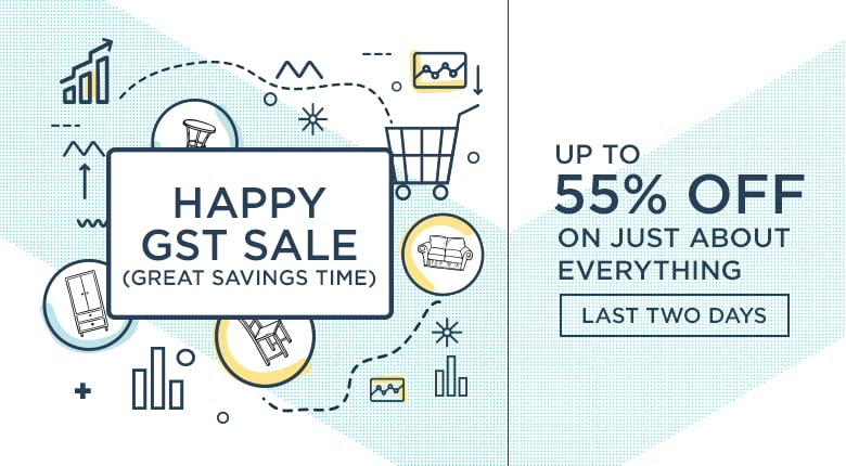 Happy Great Savings Time Sale