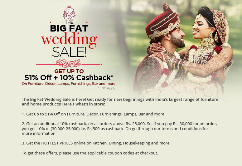 The Big Fat Wedding Sale!